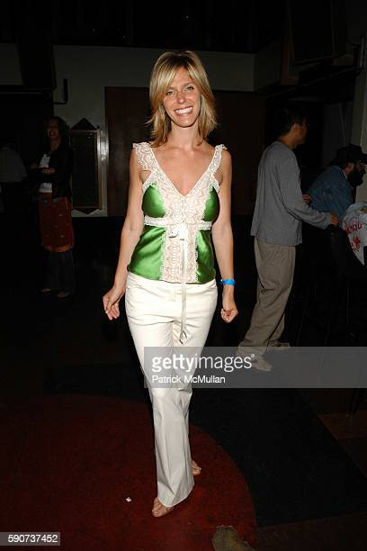 Jane Buckingham attends Modern Girls Guide Preview Party at Monroe's Bar on July 7 2005