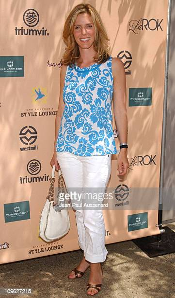 Jane Buckingham during Kari Feinstein Style Lounge Day 1 in Los Angeles California United States