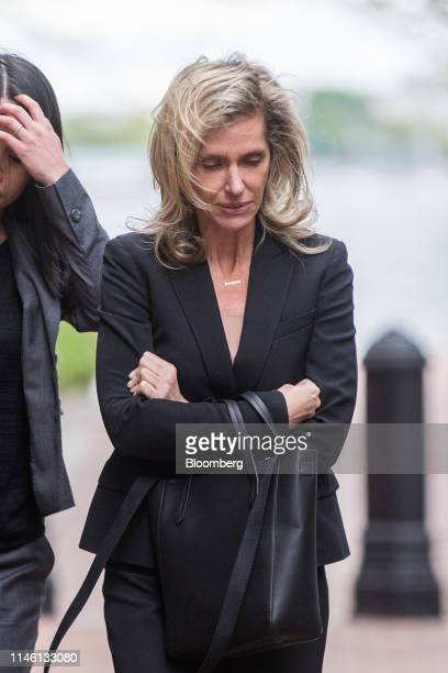 Jane Buckingham founder and chief executive officer of Trendera exits federal court in Boston Massachusetts US on Friday May 24 2019 Buckingham plead...
