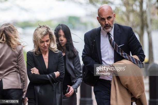 Jane Buckingham founder and chief executive officer of Trendera left exits federal court in Boston Massachusetts US on Friday May 24 2019 Buckingham...