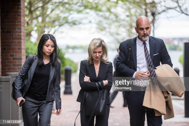 Jane Buckingham founder and chief executive officer of Trendera center exits federal court in Boston Massachusetts US on Friday May 24 2019...