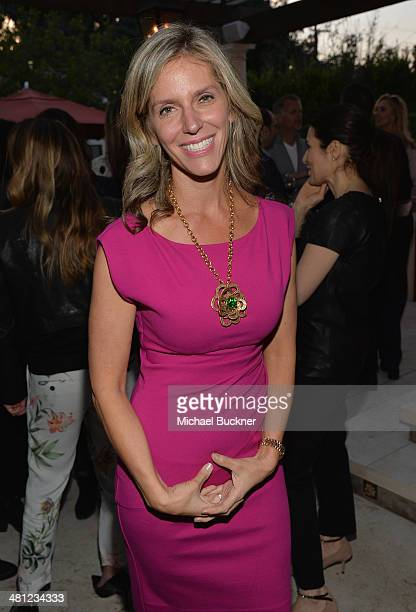 Jane Buckingham Founder Trendera attends a reception to celebrate Rashida Jones' New Glamour Column hosted by Cindi Leive and Jane Buckingham at...
