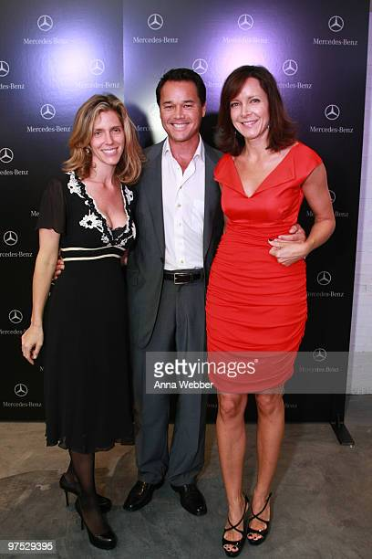 Jane Buckingham Michael Kahn and Stacy Thiele arrive at Soho House on March 7 2010 in West Hollywood California