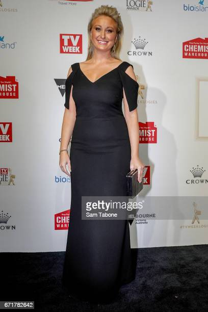 Jane Bunn arrives at the 59th Annual Logie Awards at Crown Palladium on April 23 2017 in Melbourne Australia