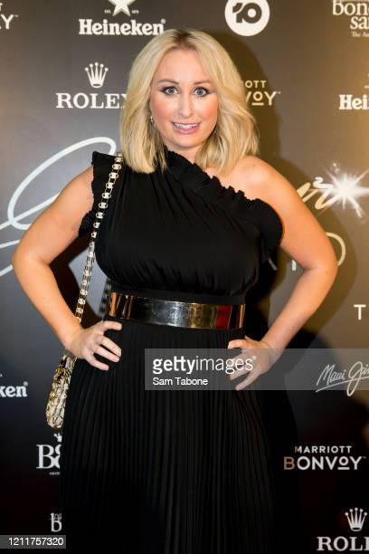 Jane Bunn attends the Glamour On The Grid party on March 11 2020 in Melbourne Australia