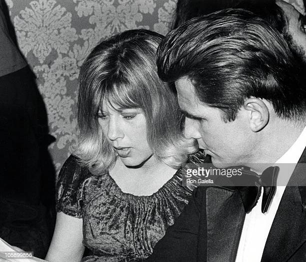 Jane Cameron Agee and James Brolin during 29th Annual Golden Globe Awards at Hilton Hotel in Beverly Hills California United States
