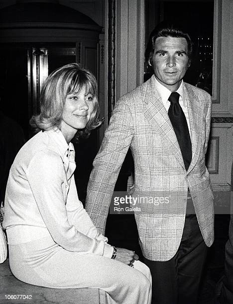 Jane Cameron Agee and James Brolin during Mademoiselle Magigini Party at Plaza Hotel in New York City New York United States