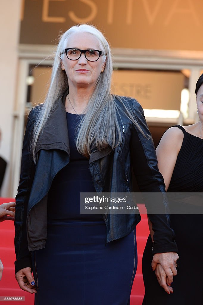 Jane Campion at the Closing ceremony and 'A Fistful of Dollars' screening during 67th Cannes Film Festival