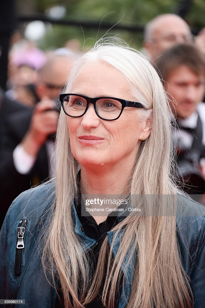Jane Campion at the red carpet for the Palme D'Or winners during 67th Cannes Film Festival