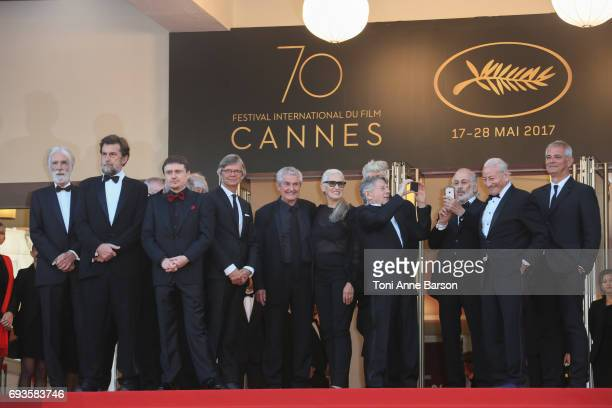 Jane Campion Ken Loach Michael Haneke CostaGavras Cristian Mungiu Nanni Moretti David Lynch Bille August Claude Lelouch Roman Polanski Jerry...