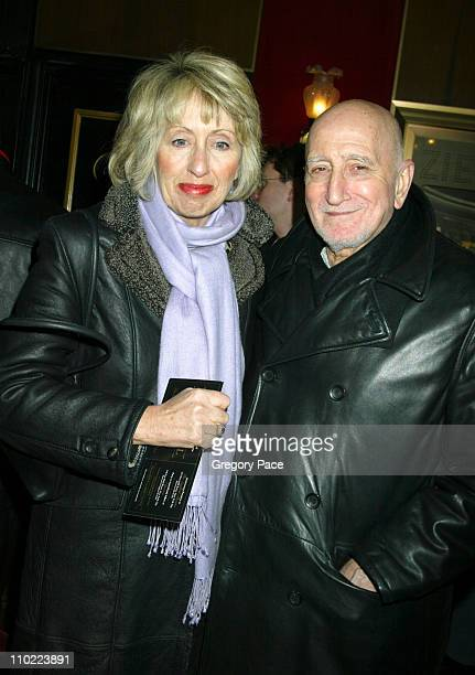 Jane Chianese and Dominic Chianese during Raging Bull 25th Anniversary and Collector's Edition DVD Release Celebration Inside Arrivals at Ziegfeld...