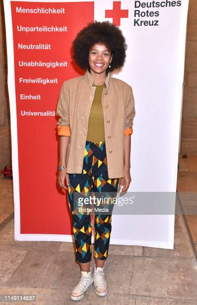 Jane Chirwa attends the 1864 Liebe und Verrat in Zeiten des Krieges premiere on May 13 2019 in Berlin Germany