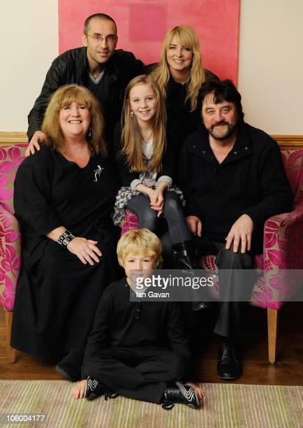 Jane Cox James Hooton Eden TaylorDraper Emma Atkins Steve Halliwell and Jack Downham attend a photocall to promote the Emmerdale special edition DVD...