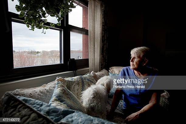 Jane Croston resident and member of the South Portland Housing Authority Board is photographed Wednesday April 29 in her apartment at 425 Broadway in...