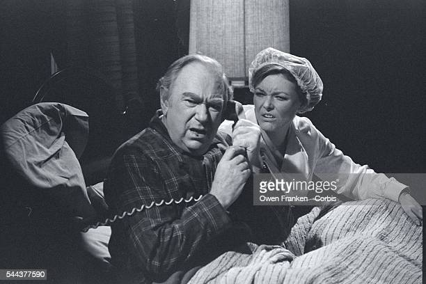 Jane Curtain in Bed With Ray Goulding Who is on the Phone