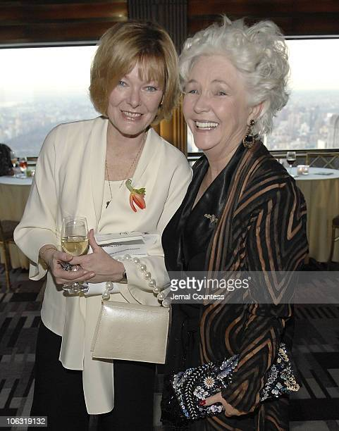 Jane Curtin and Fionnula Flanagan during Symphony Space Gala Honoring Legends and Friends March 12 2007 at Mandarin Oriental Hotel in New York City...