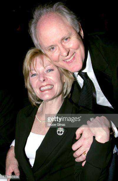 Jane Curtin and John Lithgow during 2005 National Corporate Theatre Fund Annual Gala at The Essex House in New York City New York United States