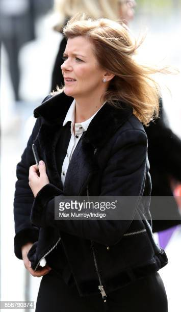 Jane Danson attends the funeral of Liz Dawn at Salford Cathedral on October 6 2017 in Salford England Actress Liz Dawn played Vera Duckworth in...