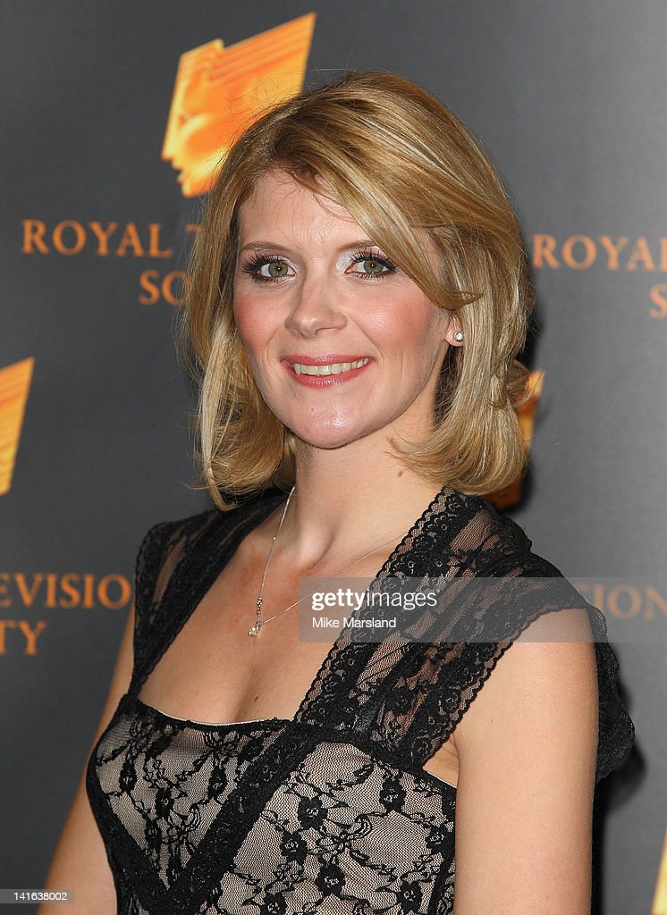Jane Danson attends the RTS Programme Awards at Grosvenor House, on March 20, 2012 in London, England.