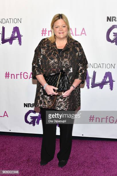 Jane Elfers attends the 2018 National Retail Federation Gala at Pier 60 on January 14 2018 in New York City