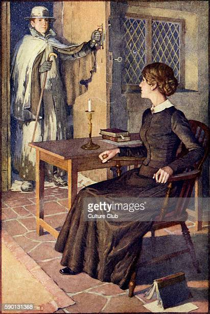 Jane Eyre by Charlotte Bronte Illustrated by Monro Scott Orr Novel first published published on 16 October 1847 Chapter 34 Caption reads 'It was St...