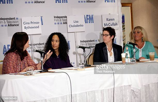 Jane Fleming President Women in Film Los Angeles Partner Amber Entertainment Gina PrinceBythewood Lisa Cholodenko and Karen McCullah Writer/Producer...