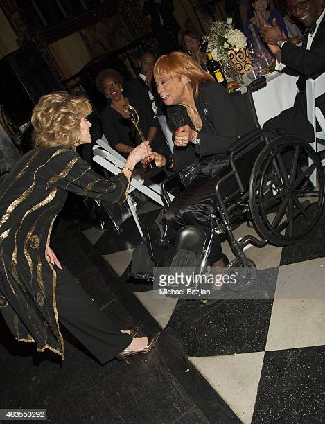 Jane Fonda and Bernadine Anderson attend 1st Hollywood Beauty Awards Presented By LATF And Benefiting Children's Hospital Los Angeles at The Fonda...