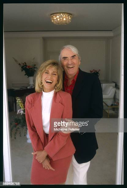 Jane Fonda and Gregory Peck at the 1989 Cannes Film Festival
