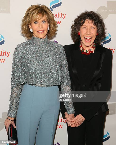Jane Fonda and Lily Tomlin attend Equality Now's 3rd annual 'Make Equality Reality' gala on December 05 2016 in Beverly Hills California