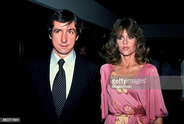 Jane Fonda and Tom Hayden circa 1979 in New York City
