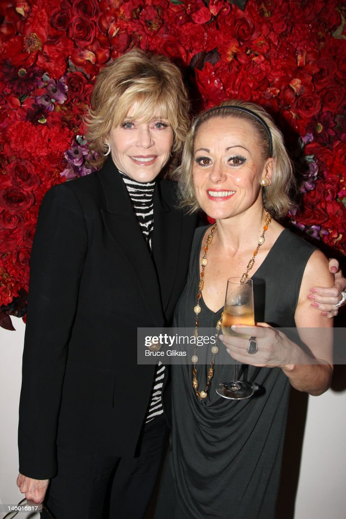 Celebrities Visit Broadway - June 8, 2012