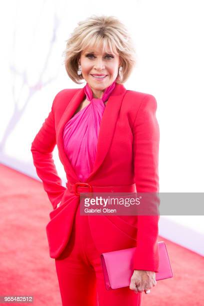 Jane Fonda arrives for Paramount Pictures' premiere of Book Club at Regency Village Theatre on May 6 2018 in Westwood California