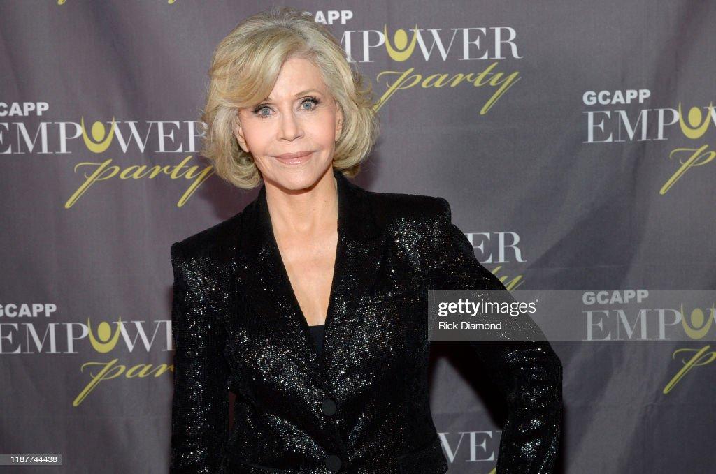 "Jane Fonda, Sheryl Crow Headline ""Empower Party"" In Atlanta For Youth : News Photo"