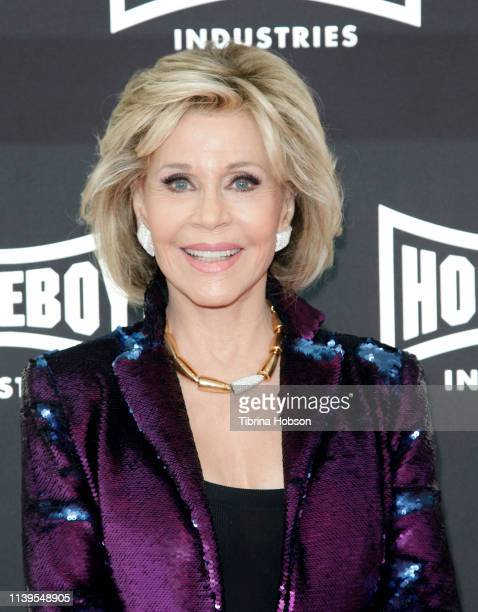 Jane Fonda attends Homeboy Industries 2019 Lo Máximo Awards Dinner at JW Marriott Los Angeles at LA LIVE on March 30 2019 in Los Angeles California
