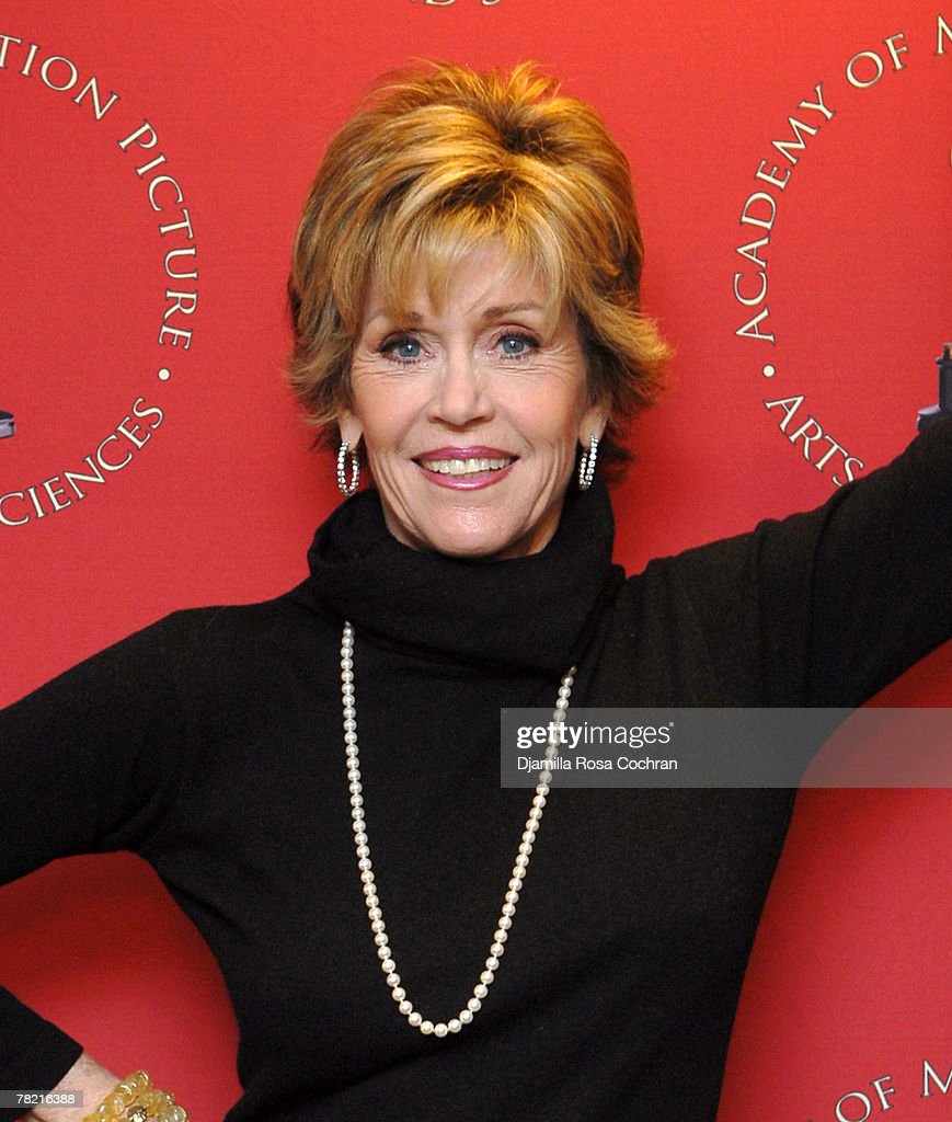Jane Fonda attends Monday Nights With Oscar Presenting the 30th Anniversary Screening of 'Coming Home' at The Academy Theater, Lighthouse International on November 12, 2007 in New York City, New York.