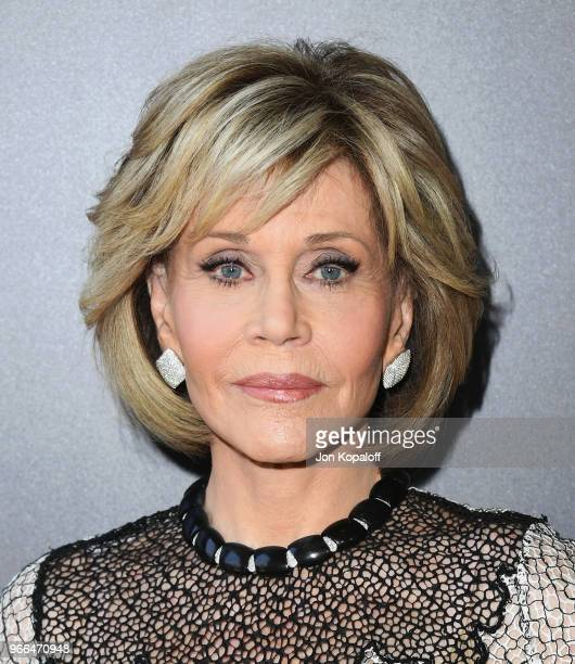 Jane Fonda attends #NETFLIXFYSEE Event For Grace And Frankie at Netflix FYSEE At Raleigh Studios on June 2 2018 in Los Angeles California