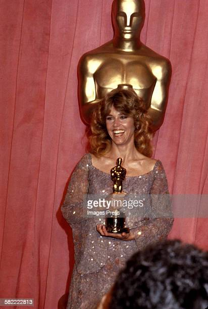 Jane Fonda attends the 51st Annual Academy Awards circa 1979 in Los Angeles California