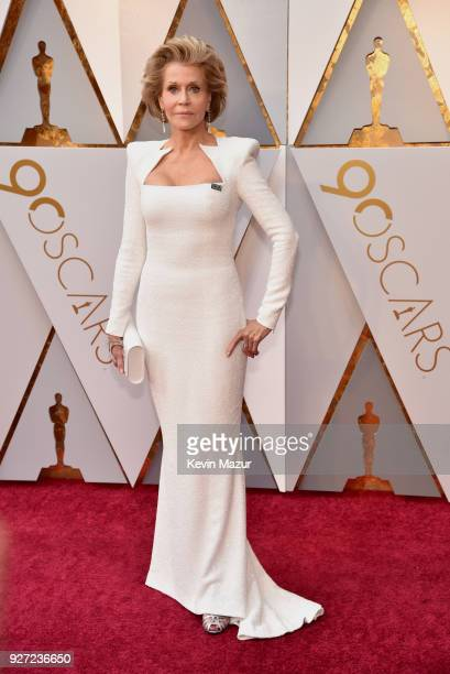 Jane Fonda attends the 90th Annual Academy Awards at Hollywood Highland Center on March 4 2018 in Hollywood California