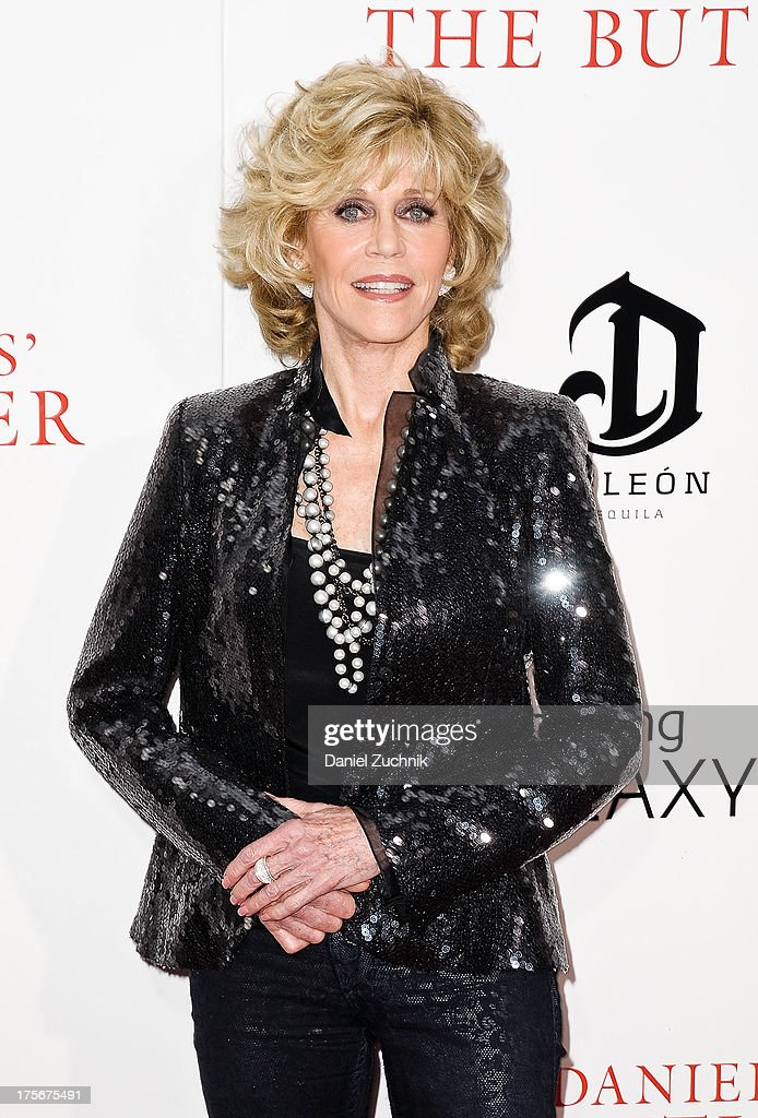 Jane Fonda attends 'The Butler' New York Premiere at Ziegfeld Theater on August 5, 2013 in New York City.