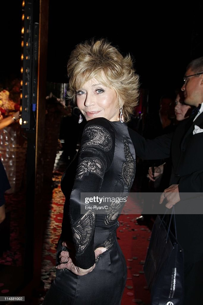 Jane Fonda attends the Diamonds Are Girls Best Friend event during the 64th Annual Cannes Film Festival held at Hotel Martinez on May 16, 2011 in Cannes, France.