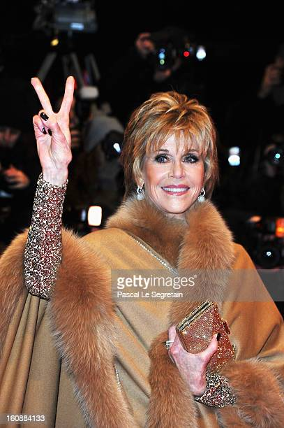 Jane Fonda attends 'The Grandmaster' Premiere during the 63rd Berlinale International Film Festival at Berlinale Palast on February 7 2013 in Berlin...