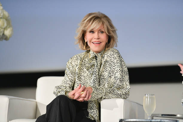 CAN: L'Oréal Presents In Conversation with Jane Fonda During 2019 Toronto International Film Festival
