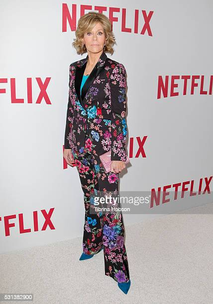 Jane Fonda attends the Netflix's Rebels and Rule Breakers Luncheon and Panel Celebrating the Women of Netflix at the Beverly Wilshire Four Seasons...