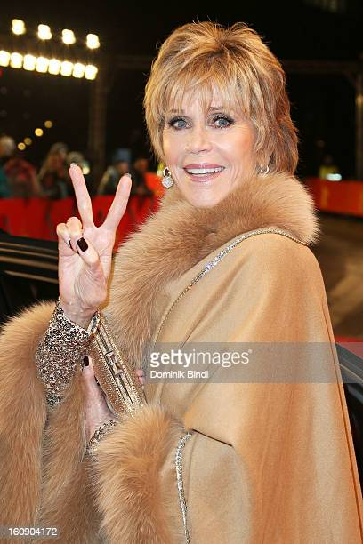 Jane Fonda attends the opening party of the 63rd Berlinale International Film Festival at The Berlinale Palace on February 7 2013 in Berlin Germany