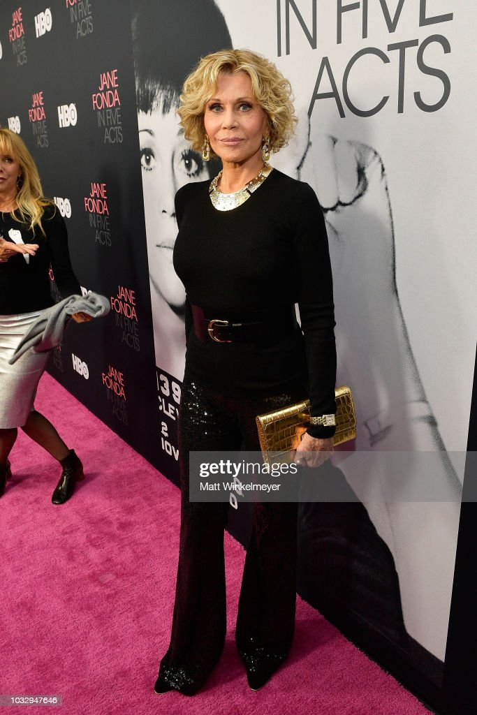 "Premiere Of HBO's ""Jane Fonda In Five Acts"" - Red Carpet"