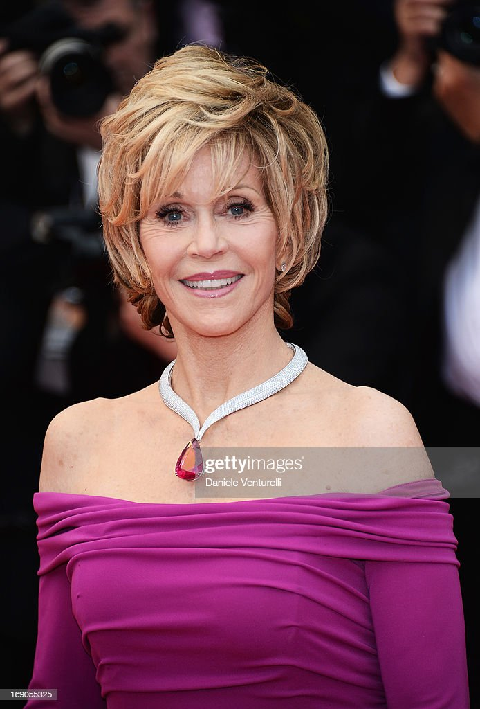 Jane Fonda attends the Premiere of 'Inside Llewyn Davis' during the 66th Annual Cannes Film Festival at Palais des Festivals on May 19, 2013 in Cannes, France.