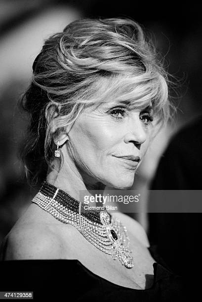 Jane Fonda attends the premiere of 'La Giovinezza' during the 68th annual Cannes Film Festival on May 20 2015 in Cannes France