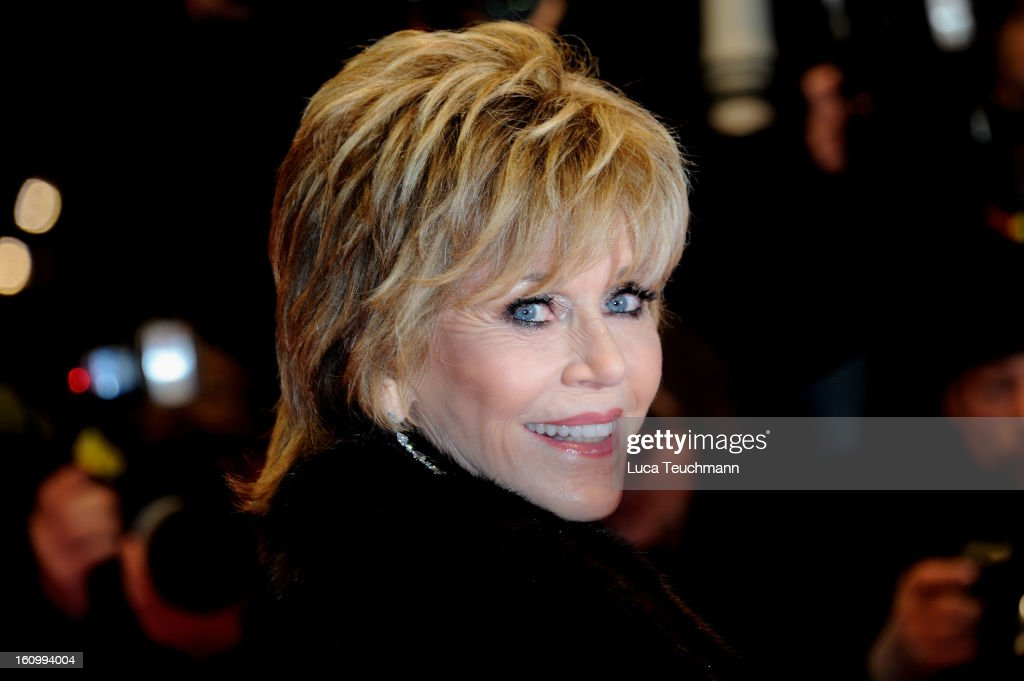 Jane Fonda attends the 'Promised Land' Premiere during the 63rd Berlinale International Film Festival at Berlinale Palast on February 8, 2013 in Berlin, Germany.