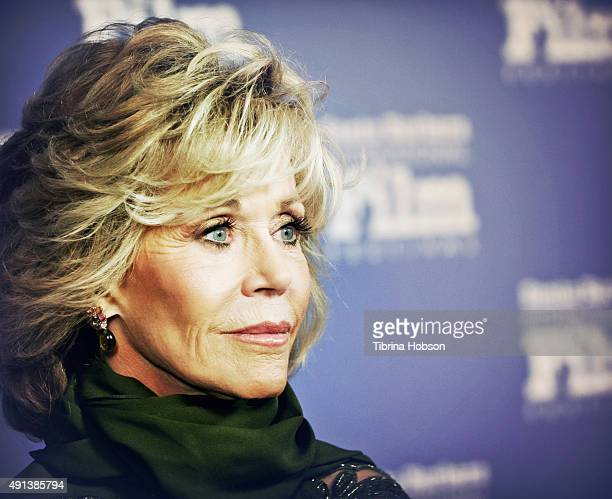 Jane Fonda attends the Santa Barbara International Film Festival annual Kirk Douglas Award for Excellence in Film honoring Jane Fonda at Bacara...