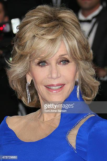 Jane Fonda attends the 'Sea Of Trees' premiere during the 68th annual Cannes Film Festival on May 16 2015 in Cannes France